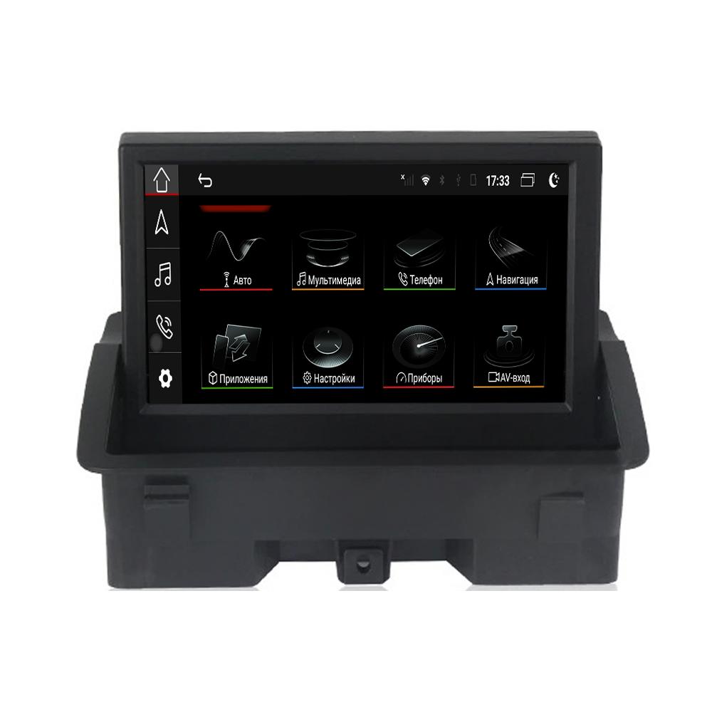 """Parafar PF8661GB Штатная магнитола   для Audi A1 (2010+) (оригинальный AUX, оригинальный экран) экран 7"""" на Android 10.0"""