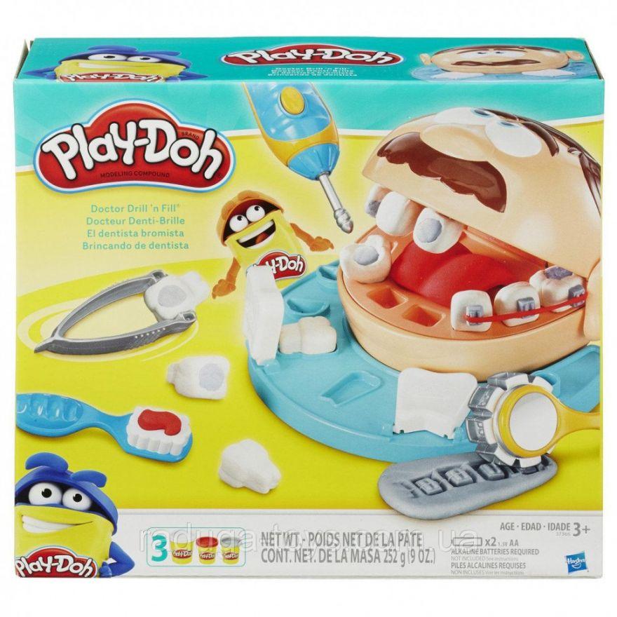 Набор для лепки из пластилина Play-Doh Мистер Зубастик (7550)