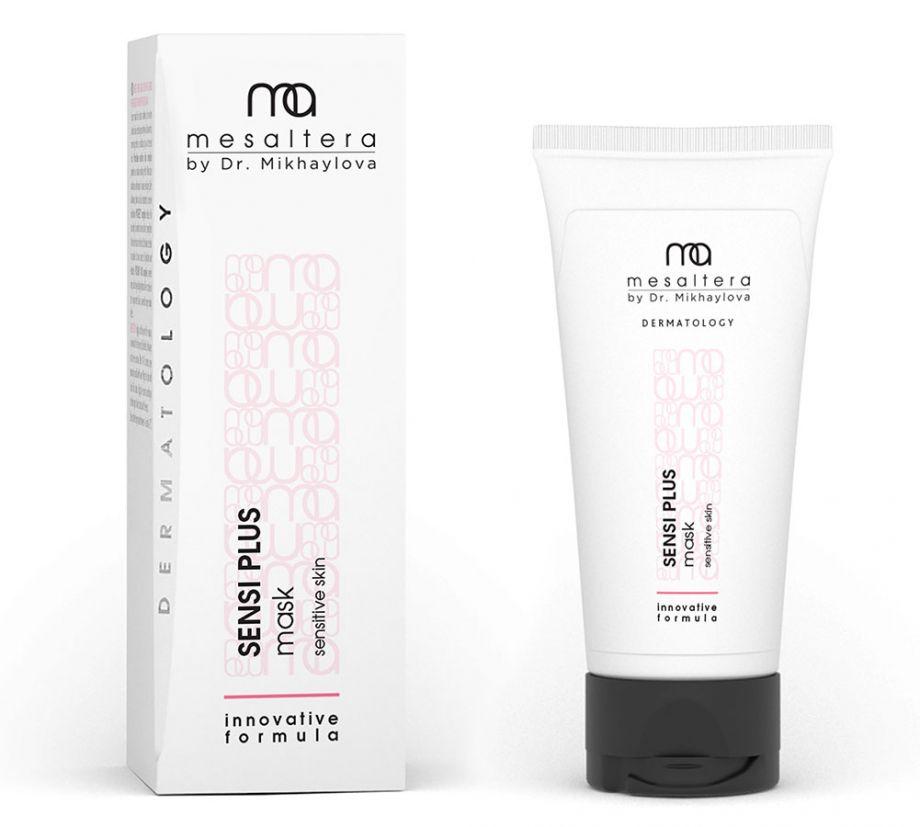 SENSI PLUS MASK Успокаивающая маска для чувствительной и раздраженной кожи  MESALTERA by Dr. Mikhaylova (Мезалтера) 50 мл