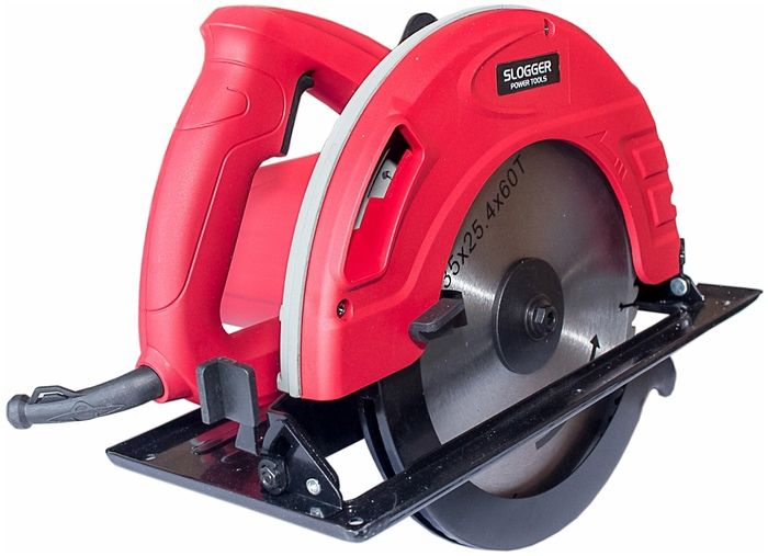 Пила дисковая Slogger CS2135 Красная