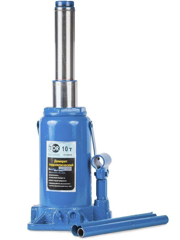 Домкрат гидравлический телескопический  TOR ДГТ-10 г/п 10 т, 2 ур
