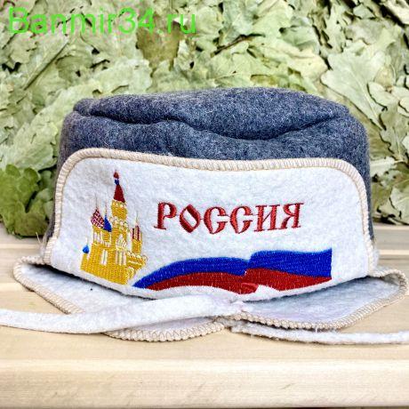 """Шапка-ушанка """"Россия"""""""