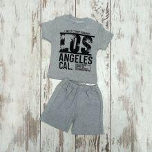Костюм Los Angeles серый 02240-9