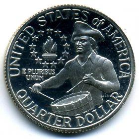 США 25 центов 1976 S