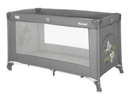 Кровать-манеж Lorelli Noemi 1 Серый / Grey Koalas 2129