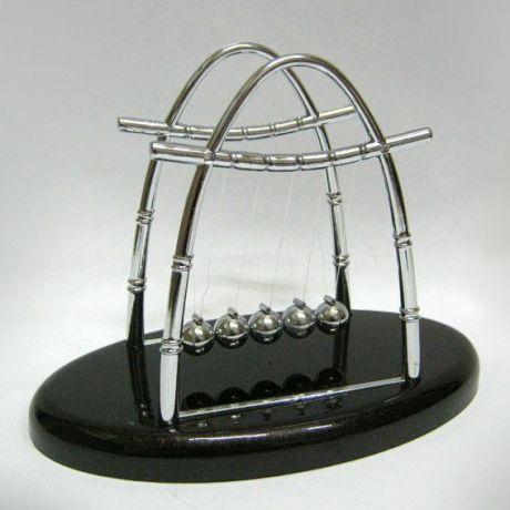 Маятник Шары Ньютона 14см пластик