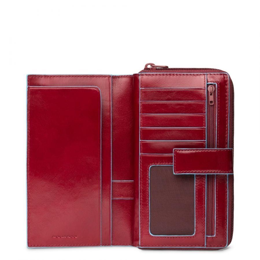 Портмоне Piquadro PD1354B2R/R женское красное