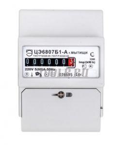 ПрофКиП ЦЭ6807Б1-А Счетчик однофазный однотарифный