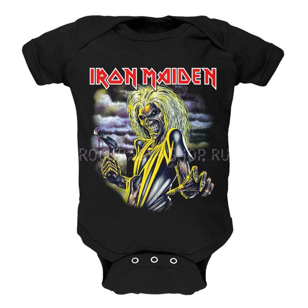 Детский боди Iron Maiden 68 размер