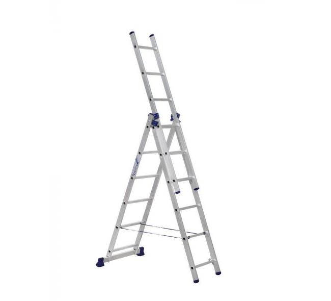 Лестница 3-секционная алюминиевая TOR VL3-6