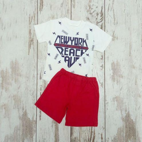 Костюм New York: футболка, шорты