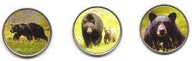 Бурый медведь 25 пенсов Ист-Бе́рра 2021