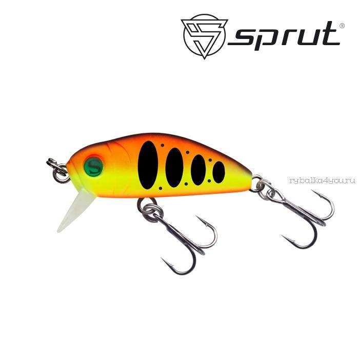 Воблер Sprut Taburo Trout 35S  35 мм / 2,7 гр / Заглубление: 0,1-0,5 м / цвет: HTR1