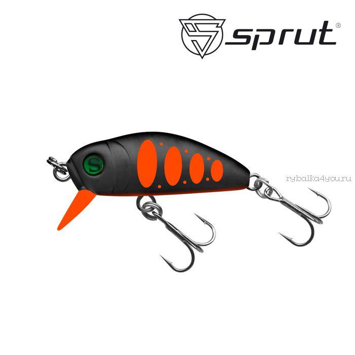 Воблер Sprut Taburo Trout 35S  35 мм / 2,7 гр / Заглубление: 0,1-0,5 м / цвет: MBKHTR