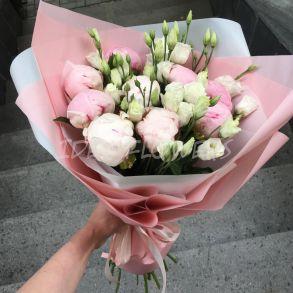 Букет «Pink peonies»