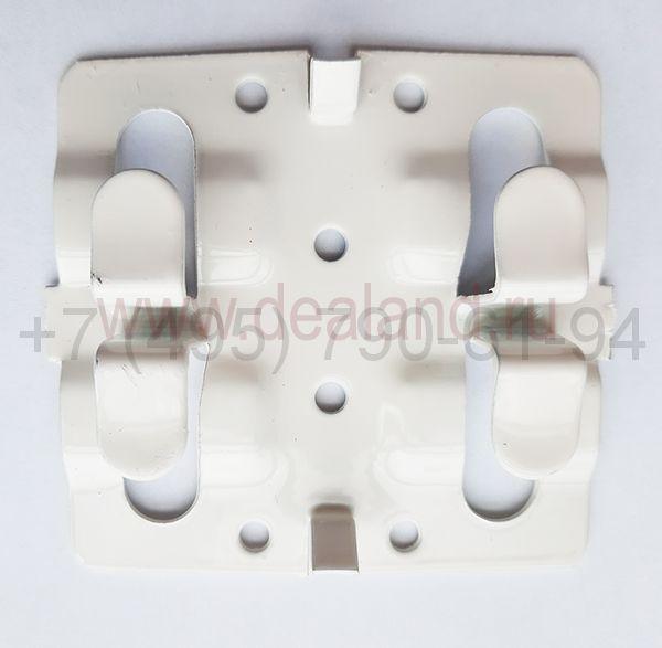 Кляммер для КГ 10 мм рядовой нерж. (AISI 430 1,2 мм)
