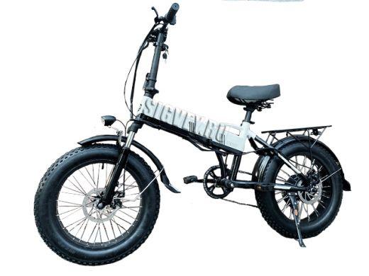 Электровелосипед Big G1 2021 Белый