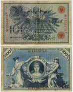Германия - 100 марок 1908 год (Германская империя)