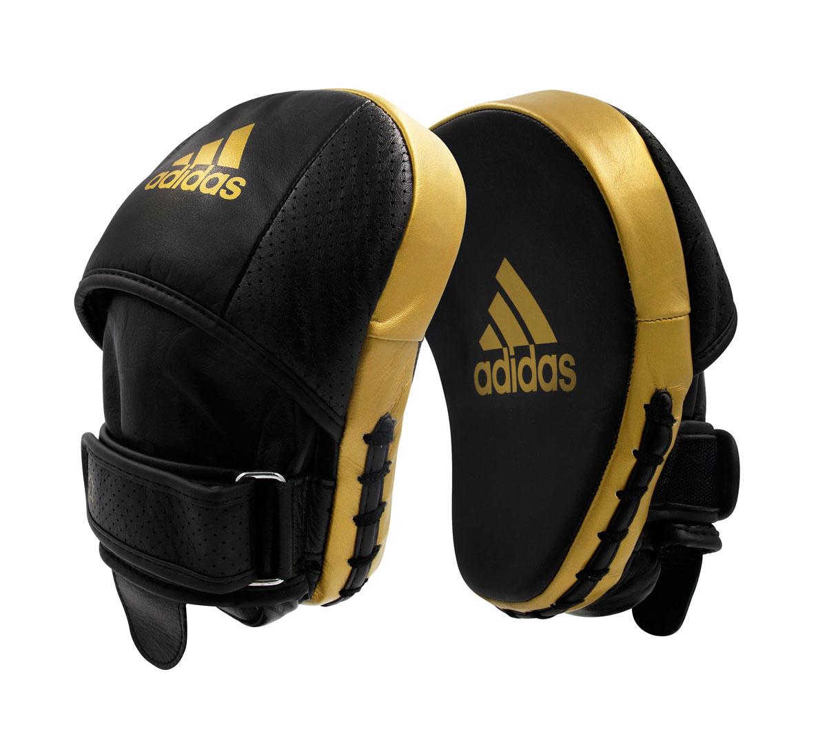 Лапы Adidas Pro Speed Focus Pad черно-золотые,  артикул adiPFP01PRO
