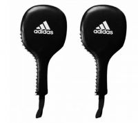 Лапы-ракетки Adidas Boxing Paddle Target черно-белые,  артикул adiPT01