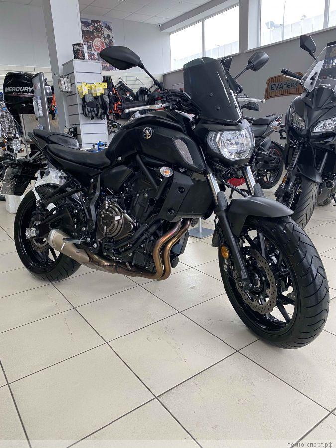 Мотоцикл Yamaha MT-07 (2020) 3500 км пробег