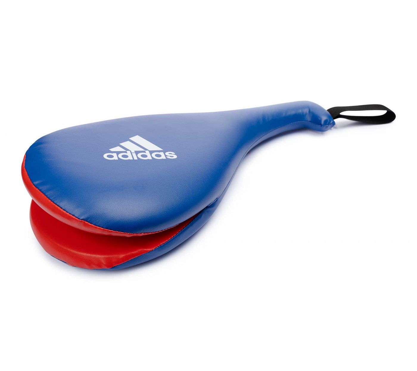 Ракетка Тэквон-до Adidas двойная Maya Double Target Mitt сине-красная размер L, артикул adiTDT03