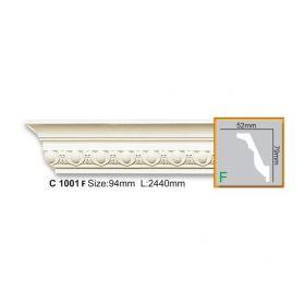 Потолочный Плинтус С Рисунком Fabello Decor С 1001 Flex Д244хВ7.9хТ5.2 см / Фабелло Декор