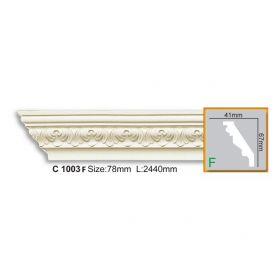 Потолочный Плинтус С Рисунком Fabello Decor С 1003 Flex Д244хВ6.7хТ4.1 см / Фабелло Декор
