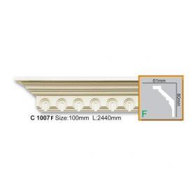 Потолочный Плинтус С Рисунком Fabello Decor С 1007 Flex Д244хВ8хТ6.1 см / Фабелло Декор