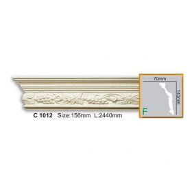 Потолочный Плинтус С Рисунком Fabello Decor С 1012 Д244хВ14хТ7 см / Фабелло Декор