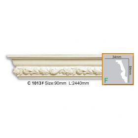 Потолочный Плинтус С Рисунком Fabello Decor С 1013 Flex Д244хВ8.4хТ3.4 см / Фабелло Декор