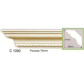 Потолочный Плинтус С Рисунком Fabello Decor С 1090 Д244хВ5.1хТ5.6 см / Фабелло Декор