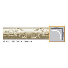 Потолочный Плинтус С Рисунком Fabello Decor С 1091 Д244хВ12хТ12 см / Фабелло Декор