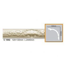 Потолочный Плинтус С Рисунком Fabello Decor С 1092 Д244хВ12хТ12 см / Фабелло Декор