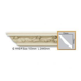 Потолочный Плинтус С Рисунком Fabello Decor С 1113 Flex Д244хВ7.3хТ7.3 см / Фабелло Декор