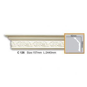 Потолочный Плинтус С Рисунком Fabello Decor С 126 Д244хВ14.4хТ6.4 см / Фабелло Декор