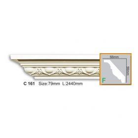 Потолочный Плинтус С Рисунком Fabello Decor С 161 Д244хВ5.6хТ5.6 см / Фабелло Декор