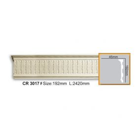 Молдинг Гладкий Fabello Decor CR3017 Flex Д244хВ19,2хТ5 см / Фабелло Декор