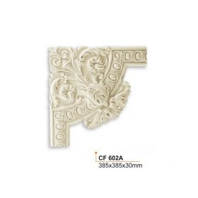 Угловой Элемент Fabello Decor CF602-A Д38,5хВ38,5xТ3 см / Фабелло Декор