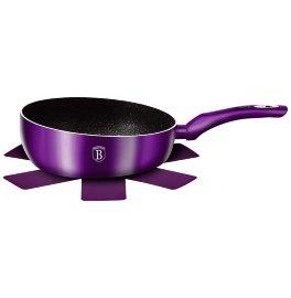 BH-7026 Purple Eclips Collection Флип сковорода 26см