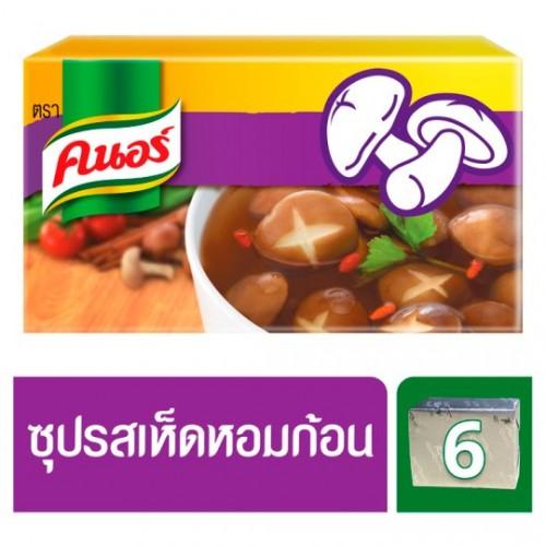Кубики бульонные грибные Шиитаке Knorr 60 гр
