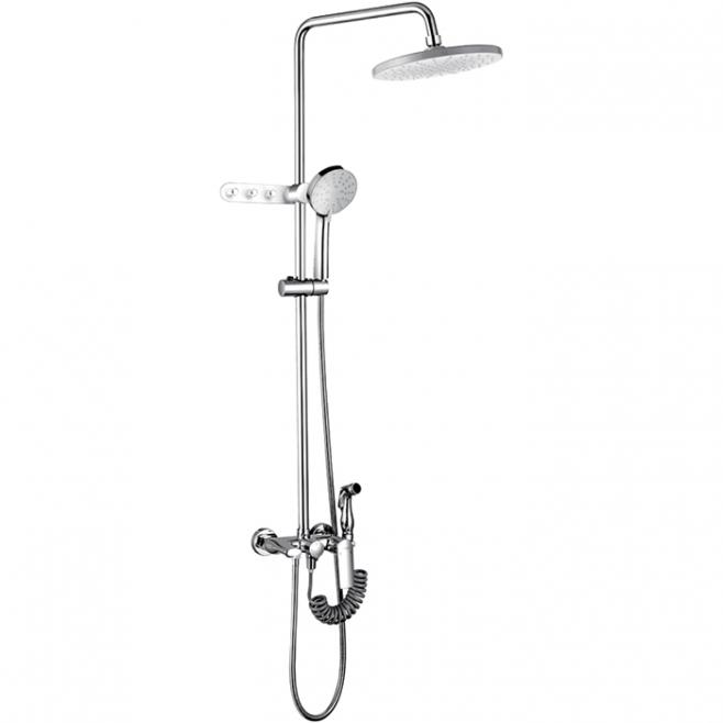 Смес ванна 40мм FRAP 24004 душевой гарнитур