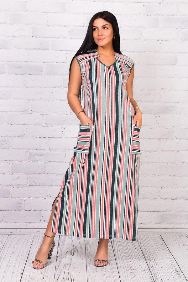 Платье 25223 [зеленый]