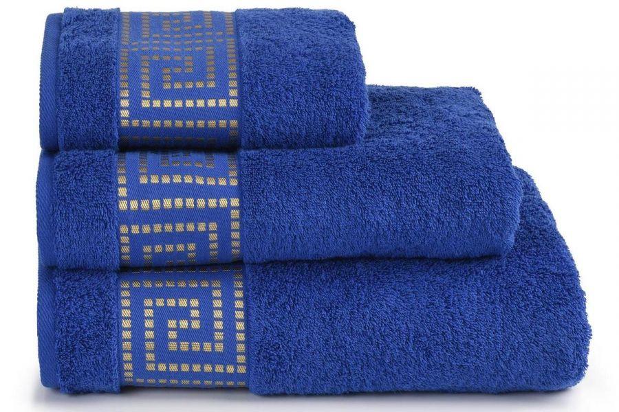 Полотенце махровое Mito Greco [синий]