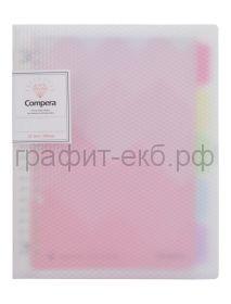 Тетрадь на кольцах А5 50л.лин.Comix COMPERA DIAMOND C7105