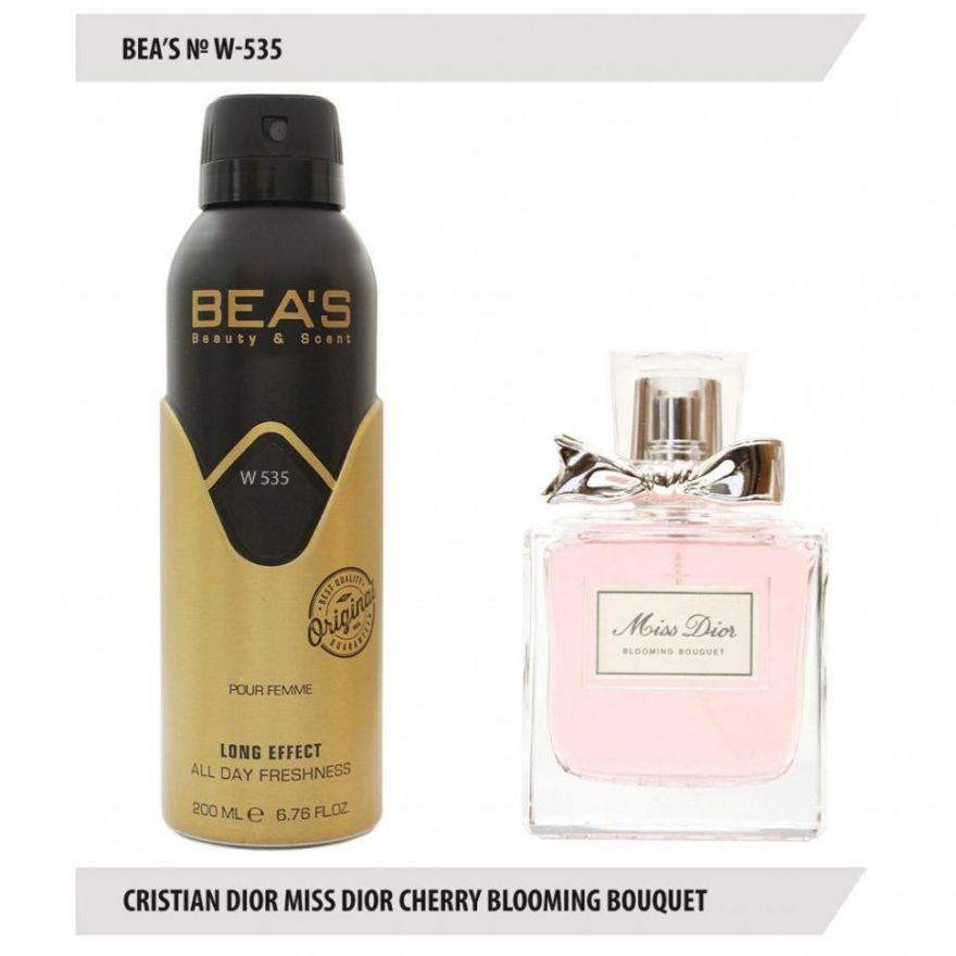 Дезодорант BEA'S W 535 - Christian Dior Miss Dior Cherie Blooming Bouqet For Women 200мл