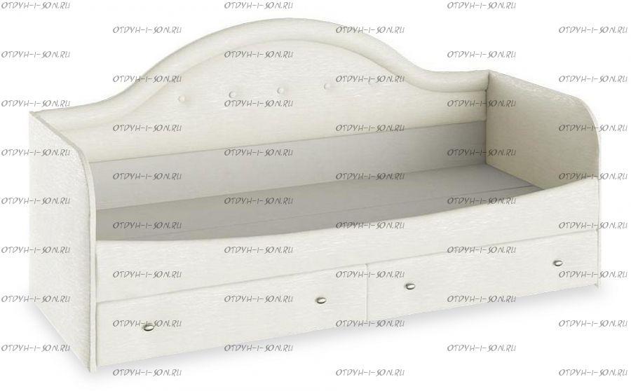 Кровать с мягкой спинкой Адель тип 1