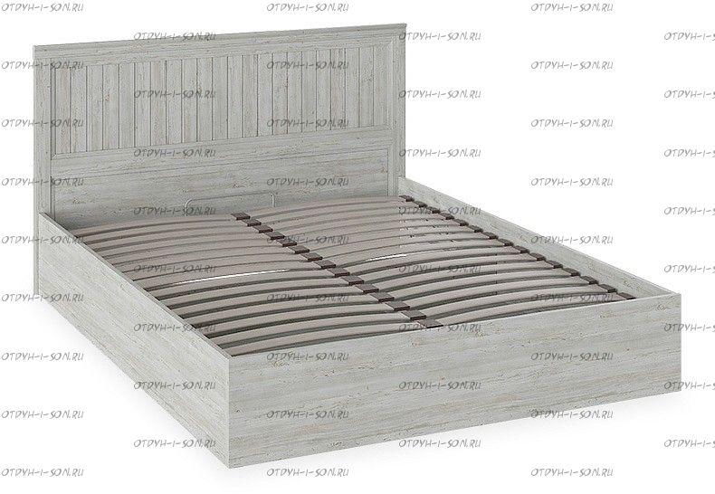 Кровать с ПМ Кантри ТД-308.01.02 (160х200) Винтерберг