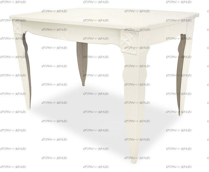 Стол обеденный Неаполь Тип 1 Слоновая кость/Дуб Сонома трюфель