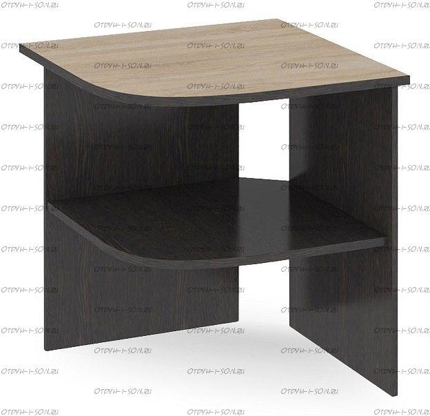 Стол угловой Успех-2 ПМ-184.10 Венге Цаво, Дуб Сонома